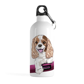 Yoga and Cavalier Love| Water Bottle
