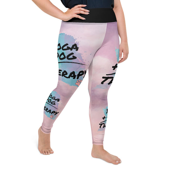 Yoga Dog Therapy| Plus Size Leggings