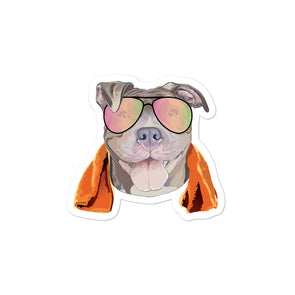 Fitness Pittie| Stickers