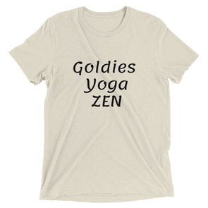 Goldies Yoga Zen| Short sleeve t-shirt
