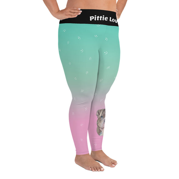 Pittie Love|Plus Size Leggings