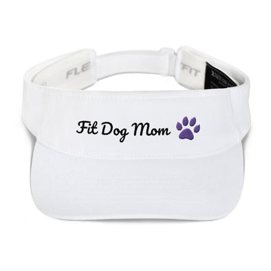Fit Dog Mom|Visor