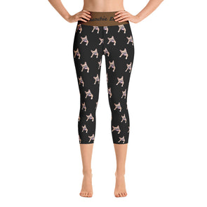 Frenchie Love| Capri Leggings