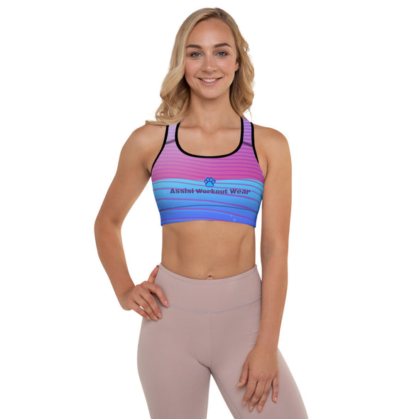 Assisi Paws| Padded Sports Bra