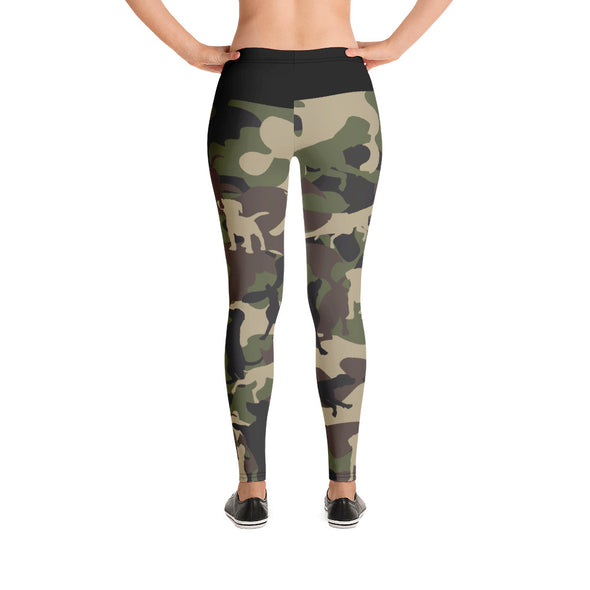 Camo Doggies|Leggings
