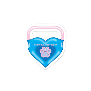 Kettlebell Heart| Stickers