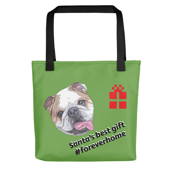 Accessory| Bulldog Christmas|Tote bag