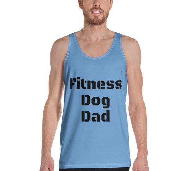 Fitness Dog Dad| Men's Tank Top