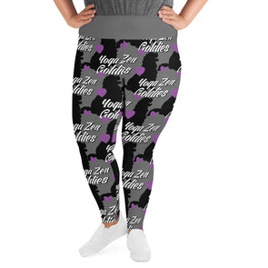 Goldies Yoga Zen|  Plus Size Leggings