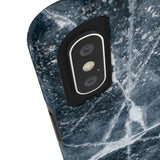 Charcoal Marble iPhone Case w/ Tri-Shield Technology - Hue Forever