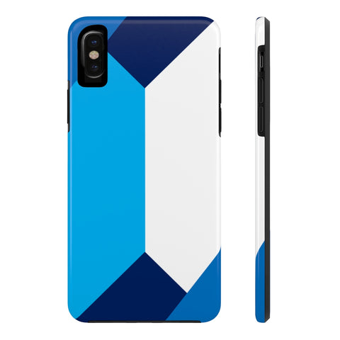 Geo Blue iPhone w/ Triple Shield Technology