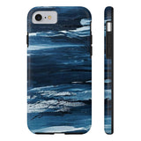Painted Blue iPhone Case w/ Tri-Shield Technology - Hue Forever