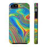 Color Swirl iPhone Case w/Tri-Shield Technology