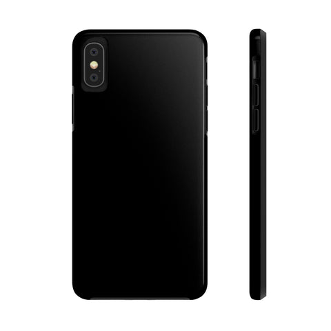Black iPhone Case w/Tri-Shield Technology