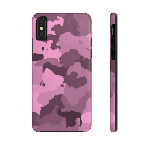 Pink Camo iPhone Case w/ Tri-shield Technology - Hue Forever