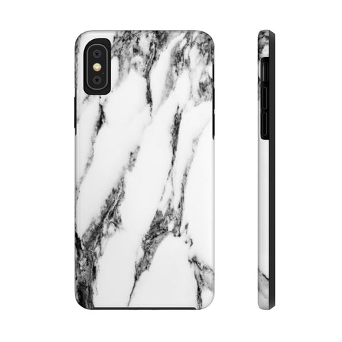 Snowy Marble iPhone Case w/ Triple Shield Technology