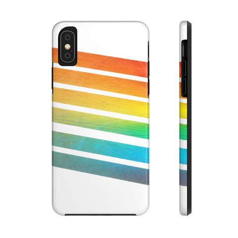 Rainbow iPhone Case w/Tri-Shield Technology