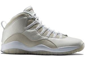 Air Jordan 10 Retro Drake OVO White - MajorBoss.com