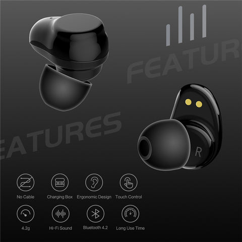 Wireless Earbuds with Charger Box - MajorBoss.com