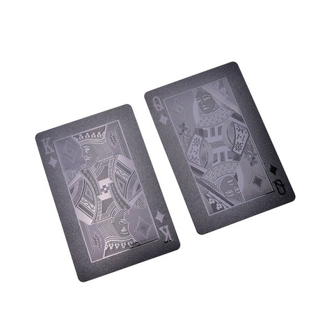 Waterproof Plastic Black Cards (Limited Edition) - MajorBoss.com