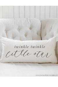 twinkle, twinkle little star lumbar pillow