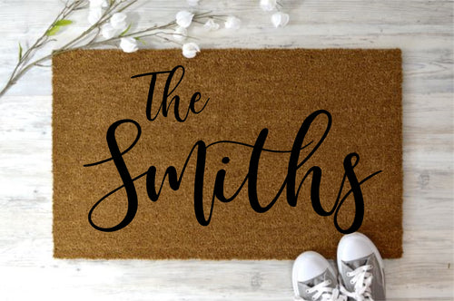 get craftee workshop ~ personalized door mat ~ HOST YOUR OWN