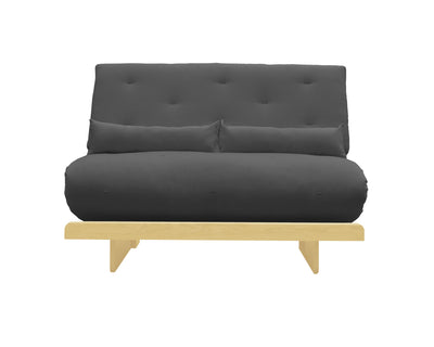 futon matrimonial bari grafito sofa natural