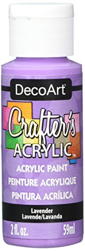 DecoArt Crafter's Acrylic Paint, 2-Ounce, Lavender