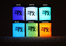 6 Color Set Glow in The Dark Paint Luminous Glowing 1/2oz- Sampler