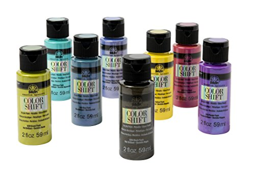 FolkArt PROMOCS8 Color Shift Chameleon Paint Set, 2 oz