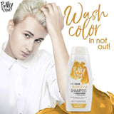 Punky Blondetastic 3-In-1 Yellow Colour Depositing Shampoo and Conditioner - Lasts 5 to 10 Washes