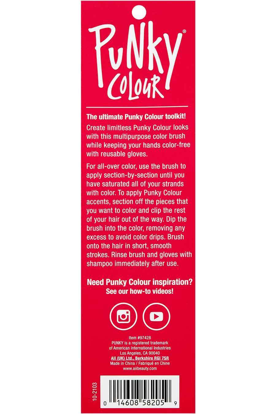 Tinting Brush Gloves by punky colour #16
