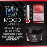 Punky Colour Red to Pink Mood Switch, Heat Activated Temporary Hair Colour Change (Lasts 1 Wash)