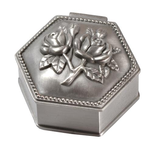 Roses Hexagon Urn Keepsake
