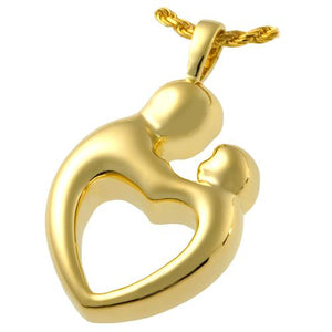Parental Love Heart Pendant