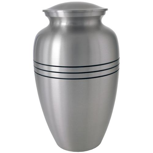 Traditional Pewter Cremation Urn