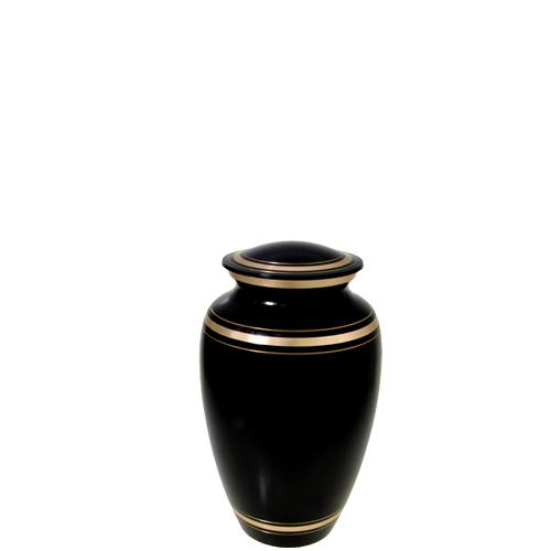 Black Gold Urn Keepsake