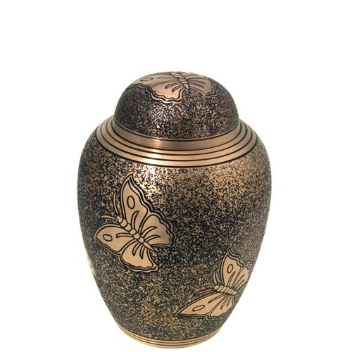 Classic Antique Butterfly Sharing Urn
