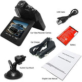 "Dash Cam, Car Dashboard Camera Recorder 2.5"" Wide View Angle LED Night Mode"