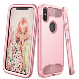 iPhone X Shockproof Case, Heavy Duty Protection TPU Hybrid Protective Cover