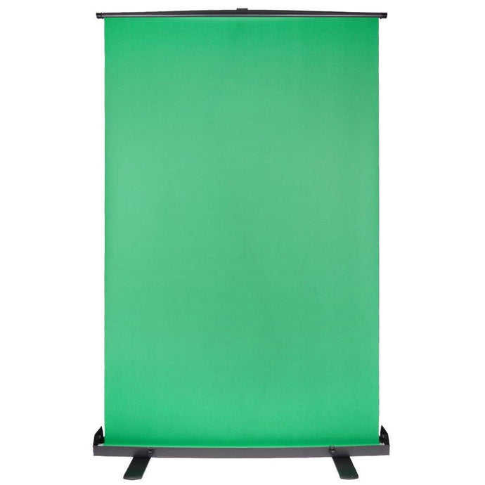 Katebackdrop:Kate Green Screen Background Collapsible Chromakey with Auto-Locking Frame Adjustable Green Fabric Backdrop for Photo Video/Television/Live