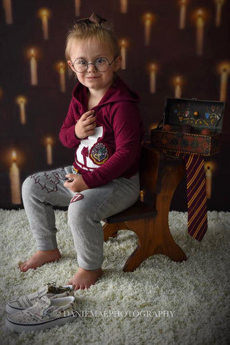 Kate Harry Potter Floating Candle Kulisse fur die Fotografie von Mini MakeBelieve