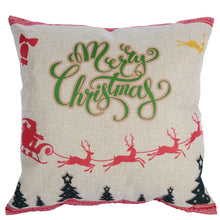 Katebackdrop:Pillow Cases Marry Christmas Pattern home decoration or photography Set of 4 (No Pillow)
