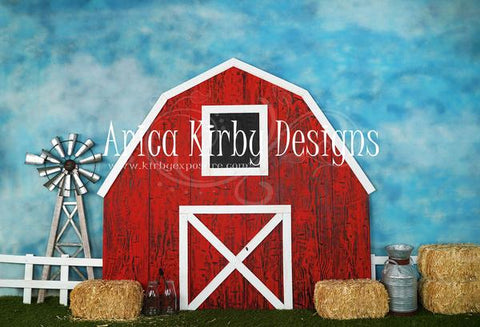 Kate Barnyard Fun Children Summer Backdrops Von Arica Kirby entworfen