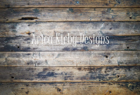 Katebackdrop:Kate Burnt Wood Planking Backdrops Designed by Arica Kirby