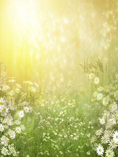 Katebackdrop:Kate Spring Easter Backdrops Green Scenery Photography Background Children