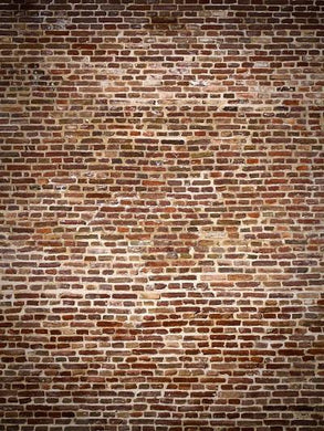 Katebackdrop:Kate Retro Style Brown Brick Wall Backdrops