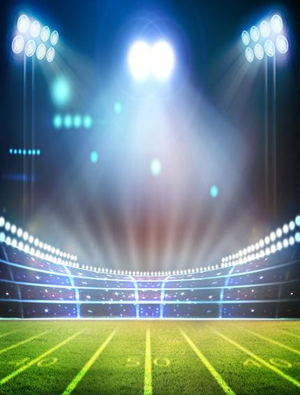 Katebackdrop:Kate light football sports stadium photography Backdrops