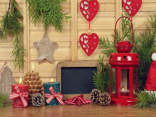 Katebackdrop:Kate Christmas Indoor Decorating Photography Valentine's Day Backdrop