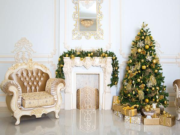 Katebackdrop:Kate Christmas Tree Gift Box Indoor Christmas Photography Backdrop